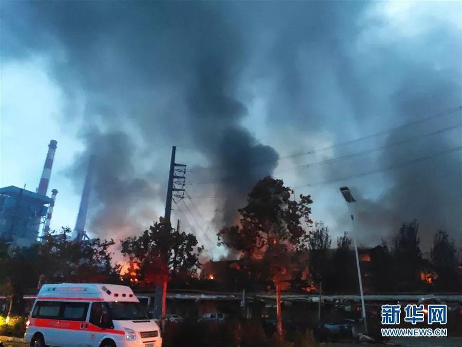 河南气化厂爆炸视频回放死亡人数与事发原因瞬间曝光!