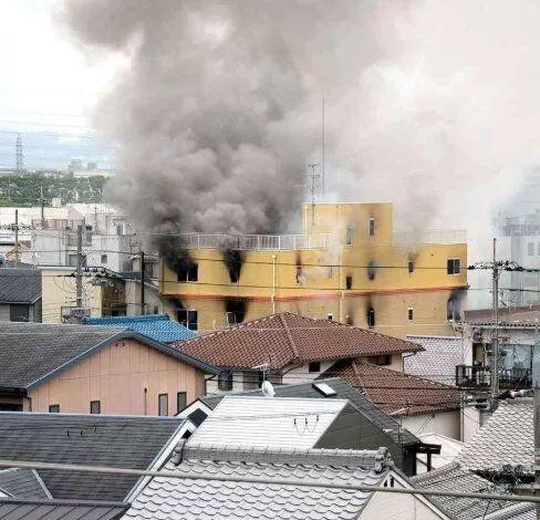 京都动画发生爆炸死亡人员最新消息及原因嫌疑犯该死纵火影响作品巨大