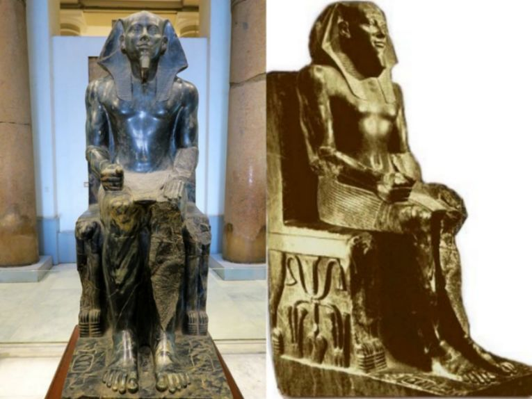 埃及历史造假是事实吗请看他们的建筑文物竟如此假大空!