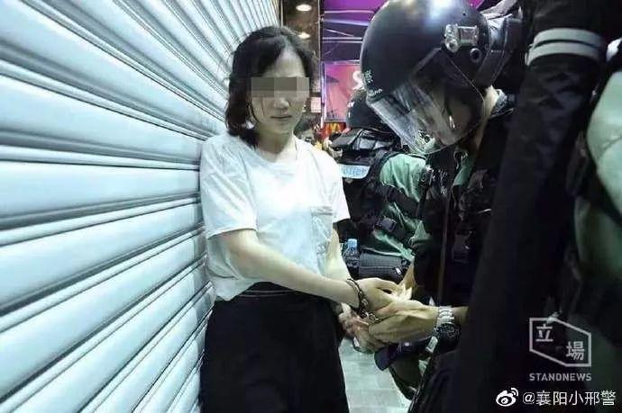 国泰空姐参与暴乱被擒获:60年的总账到了该清算的时候了!