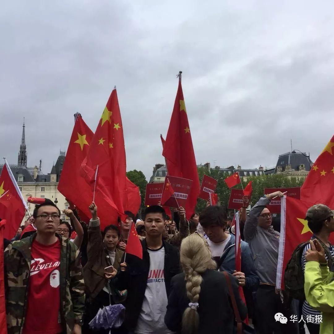 全球华人爱国红色运动继续蔓延让港独毫无立身之地!