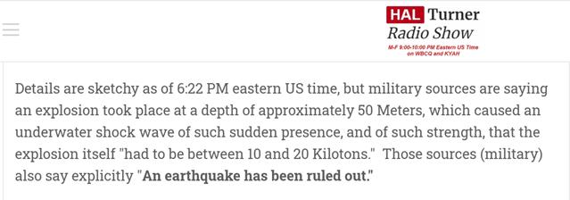 南海发生20千吨核爆幕后黑手竟然是它!