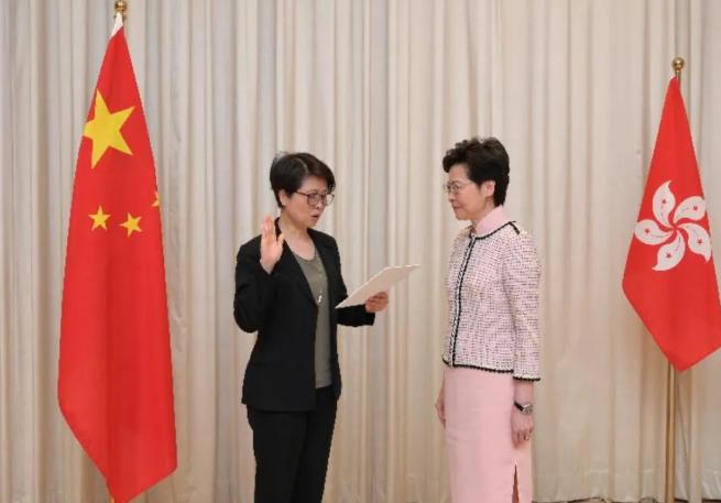 香港正式成立维护国家安全委员会名单全记录竟然她也在!