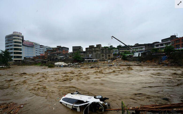 南方洪灾为啥不报道真实原因多么耐人寻味!